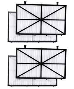 LONUO Fil-Fresh Robotic Pool Cleaner Filter Compatible with Dolphin m400, m500, Nautilus CC Plus, 4-Pack Ultra-Fine Filter Replacement Maytronics 9991432-R4