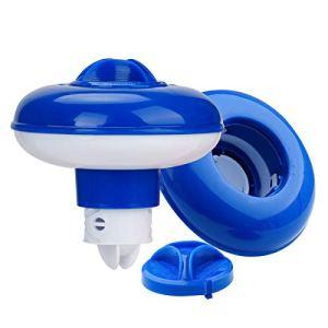 PROVO Dispensador de cloro flotante Para Piscina, Para Tableta de Lanzamiento de Gran Capacidad Para Piscinas de Interior y Exterior Spa(5 Pulgadas)