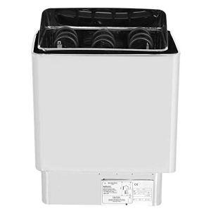 Réchauffeur de sauna, 6KW 220-380V Chauffage de salle de bains en acier inoxydable Réchauffeur de poêle