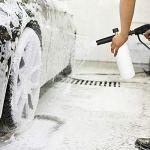 Réglable Canon à mousse Buse de 1 litre en mousse de neige Lance buse de distribution de savon pour pistolet pour nettoyeur haute pression Karcher K série K2 / K3 / K4 / K5 / K6 / K7