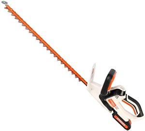 REWD Taille Haies électriques sans Fil 2-en-1 au Lithium alimenté par Batterie haie électrique, Machine Rechargeable Élagage, Lithium Taille-Haies