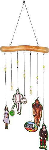 Spoontiques 14087 Wizard of Oz Driftwood Wind Chime, Multicolored