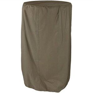 Sunnydaze Kaki Housse Fontaine à Eau extérieur, 96,5cm de diamètre, Options de Taille Disponible Moderne 38-inch Beige