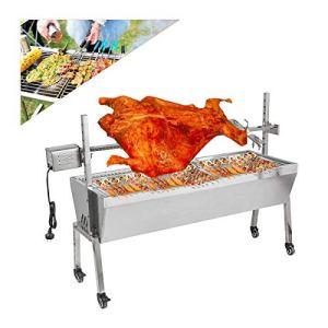 VidaSensilla Barbecue électrique 200KGF Barbecue Automatique Rotisserie Spit Roaster Grill Kit de rôtissoire pour Le Camping de Pique-Nique de fête en Plein air, avec Accessoires complets
