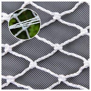 XXN Filet De Corde,Protection De Sécurité D'escalier De Balcon pour Animaux De Compagnie Filet De Butoir D'obstacle Barrière De Filet De Chargement pour Plante De Jardin Filet 1 * 1m(3.3 * 3.3ft)