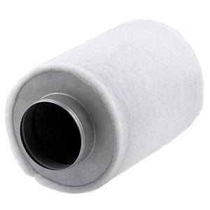 Zelsius Filtre à charbon actif Grow   Type ECO   Filtre à air à charbon actif Filtre à air Filtre anti-odeurs Grow AKF Filtre à charbon pour tente de culture (Ø 125 mm)