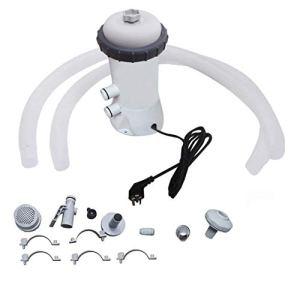 AOJIN Pompe de filtration électrique pour l'extérieur 220 V pour piscine Above Ground
