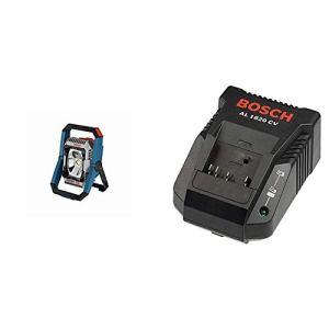 Bosch Professional 0601446501 18V System Projecteur de Chantier à LED sans Fil GLI 18V-2200 C (Luminosité Maxi 2200 lumen) & Chargeur rapide Li-Ion AL 1820 CV (multivoltages 14,4-18 V/20 min)
