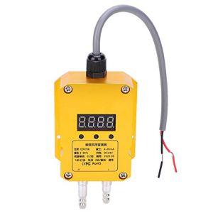 Émetteur de Pression du Vent, émetteur à Affichage numérique émetteur d'émetteur de Haute précision pour composant électronique d'émetteur de Ventilateur d'échappement(0,5 Kpa)