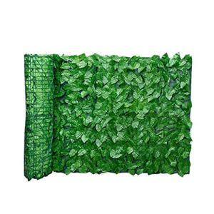 Feuille panneaux de clôture artificielle Feuille écran de couverture Confidentialité Clôture Rouleau mur extérieur Jardin Aménagement paysager arrière Balcon Clôture 0.5x3M