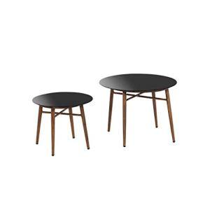 greemotion Gomera Table de Jardin, Aluminium, Gris