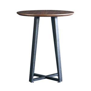 HGXC Tables Basses Table de Salon Table d'appoint en Noyer Table d'appoint Table de Balcon Table de terrasse extérieure