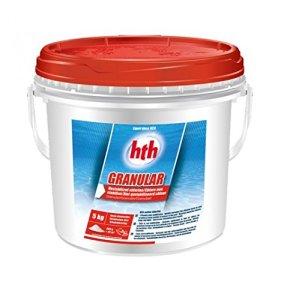 Hth Granular – Chlore Choc Non stabilisé Piscine – 5kgs (Poudre)