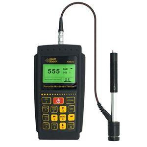 HYY-YY Duromètre portable Leeb – Testeur de dureté 170-960HLD – Jauge de dureté numérique HL HB HRC HRB HRA HV HS Leeb – Instrument de mesure de précision AR936