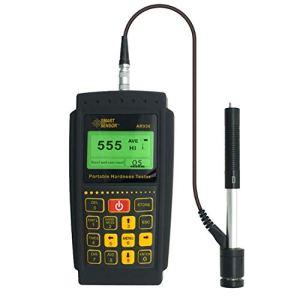 HYY-YY Testeur de dureté portable Leeb 170–960HLD Jauge de dureté numérique HL HB HRC HRB HRA HV HS Leeb Duromètre testeur AR936