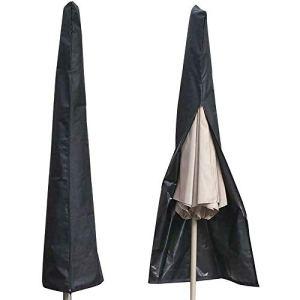 Isincer Housse de parasol imperméable à l'eau et résistante aux UV 600D pour parasol 190 x 50 x 30 cm
