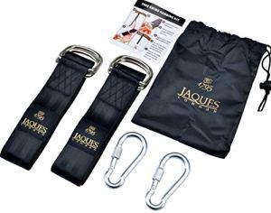 Jaques Sangles de Suspension Premium Tree Swing de of London – Ultra Strong Swing Straps – Utilisez-Les pour Vos balançoires d'arbre, balançoire pour Enfants et balançoires de Jardin
