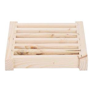 Jeffergarden Persiennes d'air pour Sauna, saunas Ventilateur pour Grille de Ventilation Pare-Soleil Accessoires pour salles de Sauna Persiennes en matériau Naturel