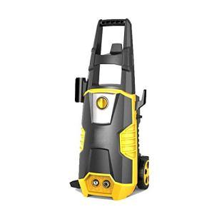Ljings Machine électrique à pression avec buse réglable, pistolet pulvérisateur, nettoie les voitures/clôtures/patios/véhicule/maison/jardin, kit A
