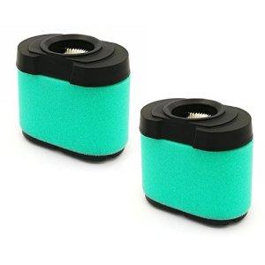 Lot de 2 filtres à air pour Briggs & Stratton 792105 276890 4163205 4163206 44H777