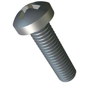 M5 x 12 mm Petite Vis à Tête Cylindrique Cruciforme Lot de 25pc ISO 7045 DIN 7985 Phillips Acier Zingué A2 vis Tete Cruciforme M5x12 mm