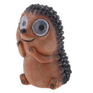 MERIGLARE Bright Eyes Lumière LED Pet Animal Garden Ornements Gift Decor Hedgehog