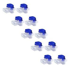 MOWHOUSE Set de Connecteurs de Câbles pour Robot Tondeuse – 10 Raccords Remplis de Gel pour Étendre ou Réparer Fil Electrique Bas Voltage Tondeuse Automatique – Étanches, Sûrs, Dénudage Inutile