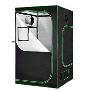 NBALL-TT Kit de Culture hydroponique 2-en-1 Mylar Tente de Cuisson réfléchissant pour système de Croissance hydroponique intérieure (32″x32 x63)