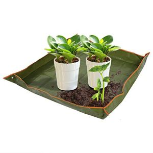 Nicoone Tapis de plantation étanche pour plantes de jardin d'enfants – Pour arrosage et transplantation