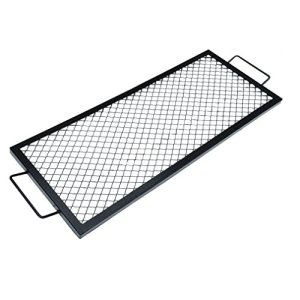 onlyfire Rectangle X-Marks Foyer Grille de Cuisson, 111,8 cm