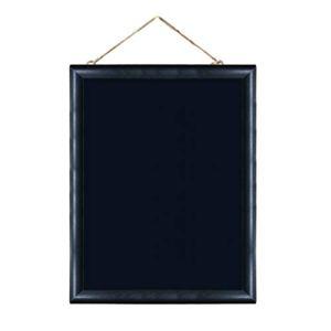 Petit tableau noir rétro à suspendre en corde de chanvre pour décoration de la maison