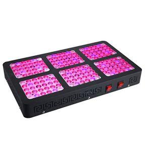Relaxbx Lampe de Croissance pour Plantes900W LED, Ligne accrochante de Double-Spectre de Spectre Complet allumant des appareils d'éclairage pour la Serre hydroponique d'intérieur d'hydroponique