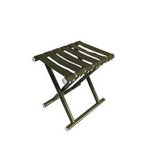 REYG Tabouret Pliable, Cheval Portable, Convient pour Un Usage Domestique, Extérieur, 30 * 25 * 31 Cm,Green