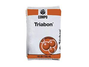 Triabon, engrais NPK (Mg, S) 16-8-12 + (4.22) + microéléments (25 kg)