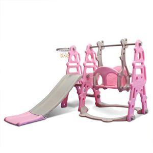 Tyueliang-Decoration Toboggan pour enfants, jouet multifonction pour crèche, toboggan pour enfants, toboggan pour intérieur, en polyéthylène, combinaison d'altalenne, intérieur en plastique