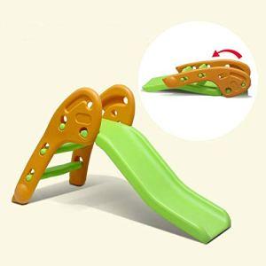 Tyueliang-Decoration Toboggan pour enfants, pliable en plastique pour enfants, jouet sur et plus pour intérieur, extérieur, pour enfants, bébés, enfants, bébés, intérieur, plastique