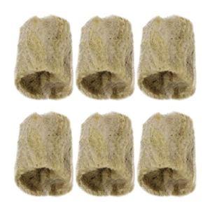 UPKOCH Lot de 20 blocs cylindriques en laine de roche pour cultiver des légumes