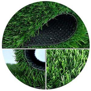 WJ Herbe Artificielle Simulation de Tapis Pelouse en Plastique Faux Gazon Balcon Jardin d'enfants Top Vert Tapis Coussin Décoration (Color : T 3.5cm, Size : 2 * 5m)