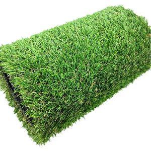 WJ Tapis synthétique d'herbe synthétique de tapis de gazon synthétique d'ornement vert en plastique de haute densité de jardin pelouse de faux jardin, taille personnalisable ( Size : 2*8m )