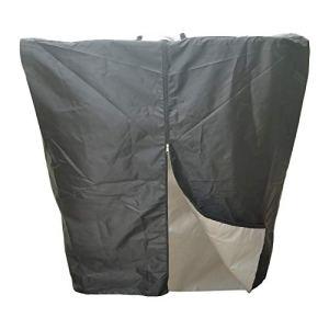 xianghaoshun Barils de mégots d'eau, Housse de Protection pour Baril de Tonne IBC, Housse Anti-poussière, Housse de Pluie pour Baril de Tonne résistant à l'eau, adaptée au réservoir de 1000L