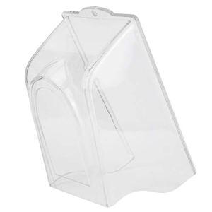 XiangXin Couverture de Pluie en Plastique Sonnette Couverture de Pluie imperméable en Plastique, Serrure d'empreinte Digitale Transparente Sonnette étanche protéger la Coque pour l'accès