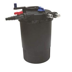Akwado CPF-20000 Filtre à pression avec clarificateur UVC 36 W pour bassin Koi etc.