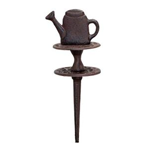 Antikas – Guide de tuyau, fonte, arrosoir, marron, tuyau d'arrosage.