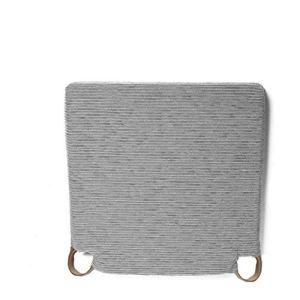 Arcoiris Lot de 6 coussins d'assise et de chaise, 40 x 40 cm, rembourrage en fibre et mousse, confortables, résistants, faciles à nettoyer (Gris, Fantasy)