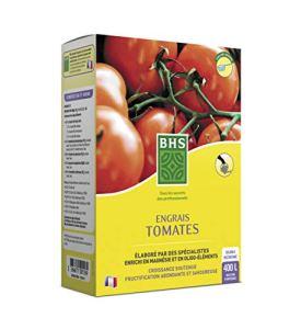 BHS EST800 Engrais Tomates | 800 g | Soit 400 L | Fortement Concentré en Potasse pour Favoriser La Formation De Fruits en Abondance Et De Qualité, Fabriqué en France