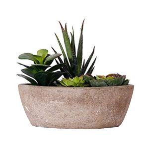BOENTA Fausse Plante Plantes Moderne Artificielle Plante en Pot Faux Plantes Décoration de Mariage Faux Plantes en Pots Véranda Décor Jardin Décor