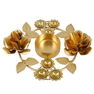 Cadeaux faits à la main Diwali Diya Lumières Bougeoir des Arrangements floraux