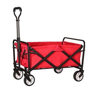 Chariots De Jardin 5 Pouces Wagon Utlity Wagon Panier Chariot À Main Panier À Main Panier De Jardin (Color : Red)