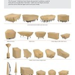 Classic Accessories Terrazzo une couverture complète carré Foyer Coque 42 Inch
