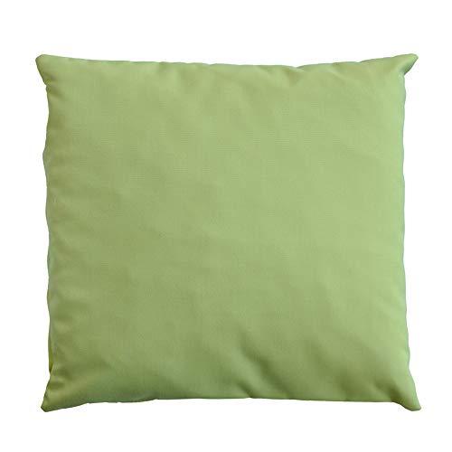 Coussin d'extérieur Qush – Sunbrella Lime | Hydrofuge | Ne Se décolore Pas | Résistant aux Taches | Résistant à la moisissure – Coussins décoratifs | Coussin de Salon de Jardin